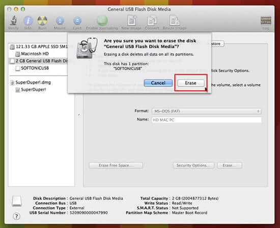 borrar y formatear disco duro en mac