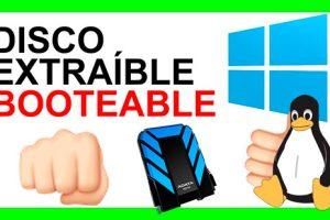 disco duro externo booteable