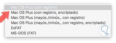 macos plus con registro