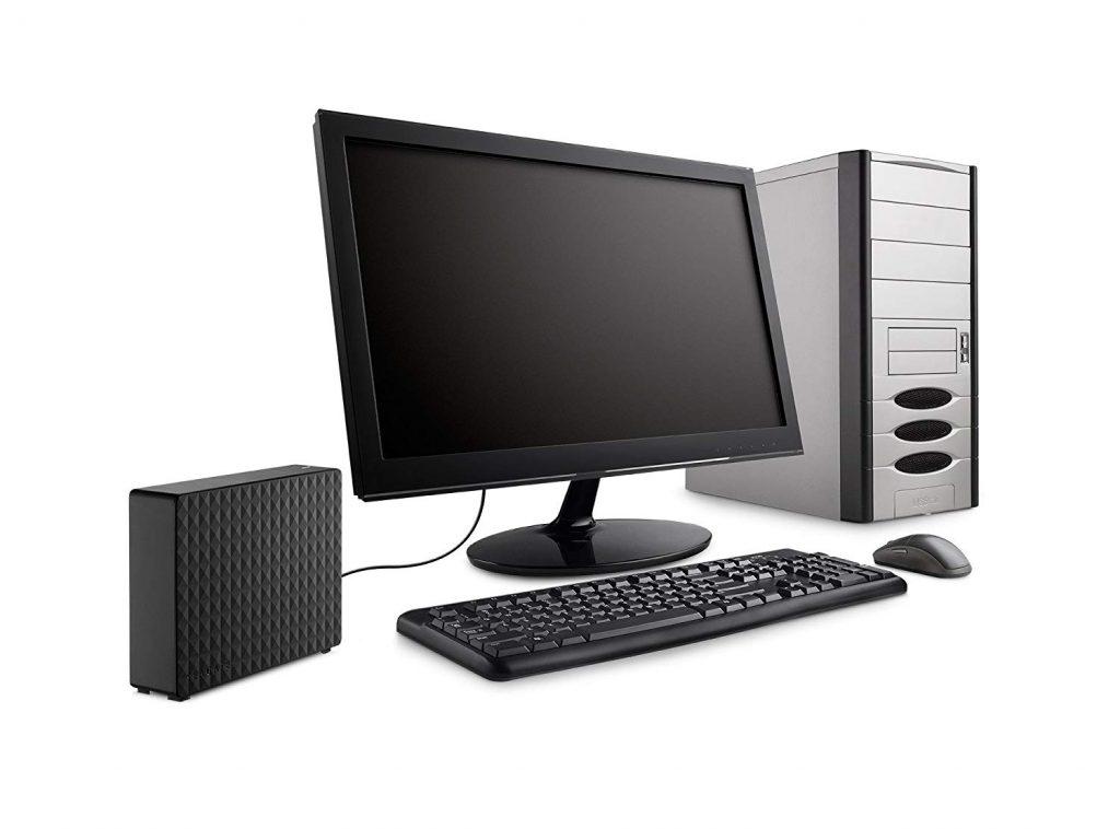 Seagate Expansion STEB4000100 - Disco Duro Externo conectado a PC