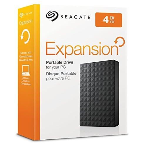 seagate expansion STEA4000400 - caja