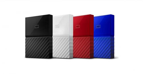 WD My Passport Portable USB 3.0 - colores 2